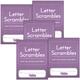 Letter Scrambles 1 Journal set of 5