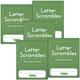 Letter Scrambles 2 Journal set of 5
