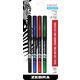 Sarasa Pen - 0.8mm, Fine (Assorted Colors) 4 Pack