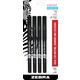 Sarasa Pen - 0.8mm, Fine (Black) 4 Pack