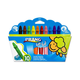 Prang be-be Jumbo Crayons - Set of 10 with sharpener