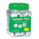 Connecting Number Tiles Tub