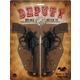 Deputy Double Holster Set