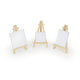 Mini Canvas & Easel Set (3 sizes of canvas & 3 easels)
