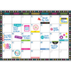 Clingy Thingies Calendar Sets - Chalkboard Brights