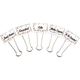 Large Binder Clips - Confetti (5 count)