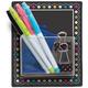 Storage Pockets - Chalkboard Brights