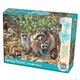 Raccoon Family Puzzle (350 piece)