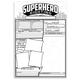 Superhero Sighting Poster