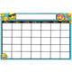Write & Wipe Magnetic Calendar - Emoji