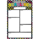 Write & Wipe Magn Chart-Neon Chlk Clssrm Hdln