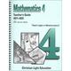 Mathematics Teacher's Guide 401-405 Sunrise Edition