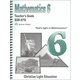 Mathematics Teacher's Guide 606-610 Sunrise Edition