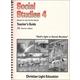 Social Studies 400 Teacher's Guide (for Textbook)