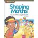 Shaping Maths Teacher's Planning Guide 5B 3rd Edition