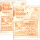 Social Studies 401-410 LightUnit Answer Key Set Sunrise Edition