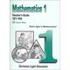 Mathematics Teacher's Guide 101-105 w/ answers Sunrise Edition