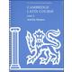 Cambridge Latin Course Unit 2 Activity Masters