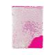 Iridescent/Bright Pink Magic Sequin Journal