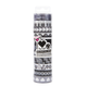 Tapeffiti Theme Decorative Tape Tube Black & White (11 Pieces)