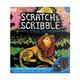 Colorful Safari Scratch & Scribble Art Kit: 10 piece set