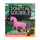 Magical Unicorns Scrtch & Scrbl Art Kit(10pc)