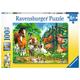 Animals Get Together Children's Puzzle (100 pieces)