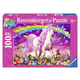 Horse Dream Glitter Puzzle (100 pieces)