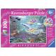 Little Mermaids Glitter Puzzle (100 pieces)