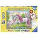 Magical Unicorns Puzzle & Coloring Booklet