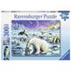 Polar Animals Gathering Puzzle (300 pieces)