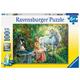 Princess & Unicorn Children's Puzzle (100pc)