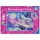 Twilight Howl Glitter Puzzle (100 pieces)