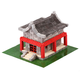 Chinese House 600 Pieces (Wise Elk Construction Set)