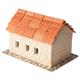 Tile Roof House 450 Piece Mini Bricks Construction Set)