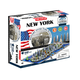 New York, USA 4D Cityscape Time Puzzle