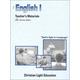 English I Teacher's Materials Units 1-5 Sunrise Edition