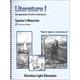 Literature I Teacher's Materials Sunrise Edition