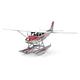Cessna 182 Floatplane (Metal Earth 3D Model)