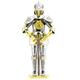 European (Knight) Armor (Metal Earth 3D Model)