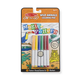 Magic-Pattern Coloring Pad On the Go Wild Animals