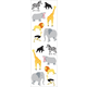 Wild Animals Stickers (3 sheets)