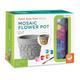 Paint Your Own Mosaic Stone - Flower Pot