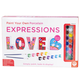 Paint Your Own Porcelain Expressions - Love