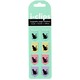 i-Clips Black Cats Magnetic Page Markers