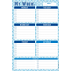 My Week Daily Note Pad (60 sheets)