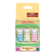 Marshmallow Mouse Triplets (Calico Critters)