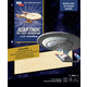 Star Trek The Next Generation U.S.S. Enterprise Book and 3D Wood Model