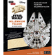 Star Wars Millennium Falcon Book and 3D Wood Model