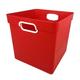 Cube Bin - Red